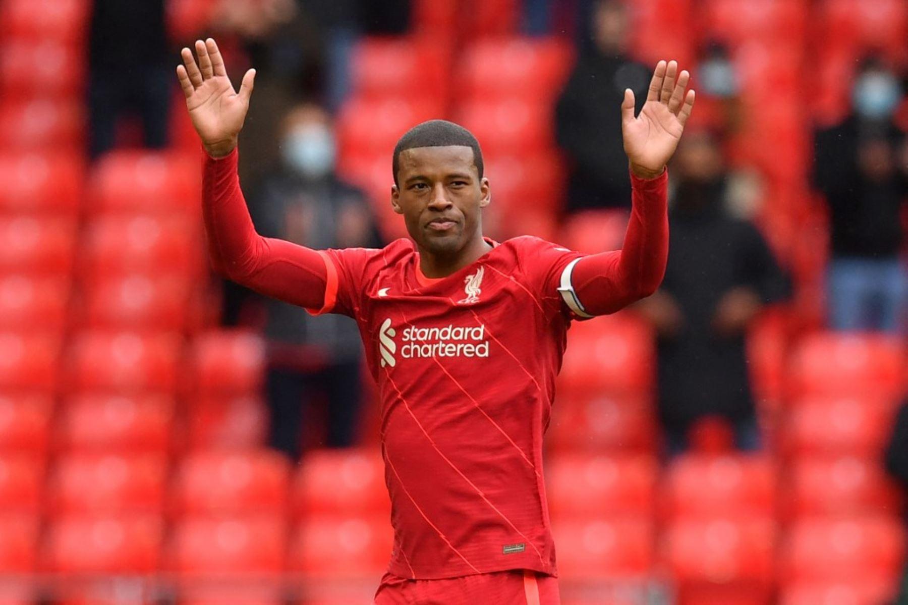Wijnaldum pasará del Liverpool al PSG