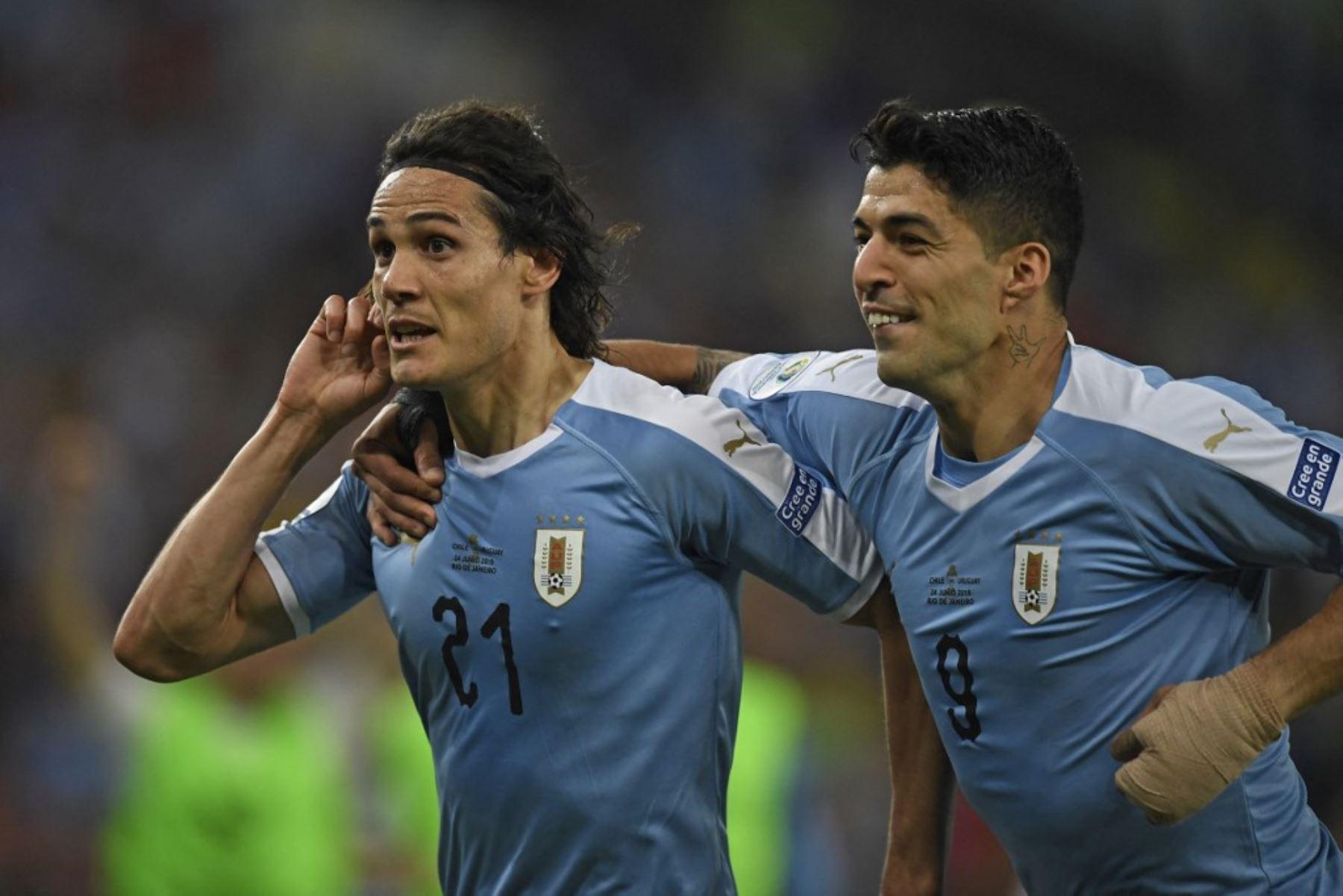 Edinson Cavani y Luis Suárez jugarán la Copa América 2021