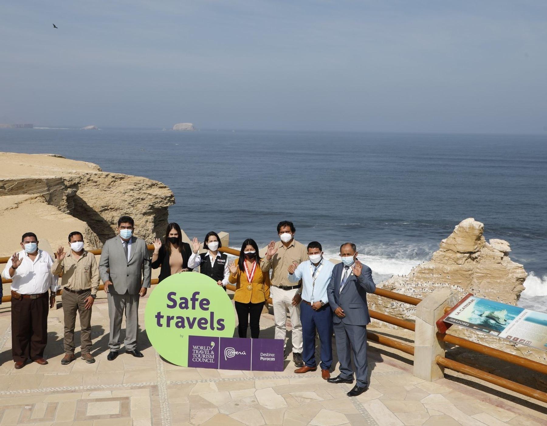 La Reserva Nacional de Paracas es uno de los atractivos de la región Ica que recibió el sello Safe Travels que lo reconoce como destino turístico seguro ante la covid-19. ANDINA/Difusión