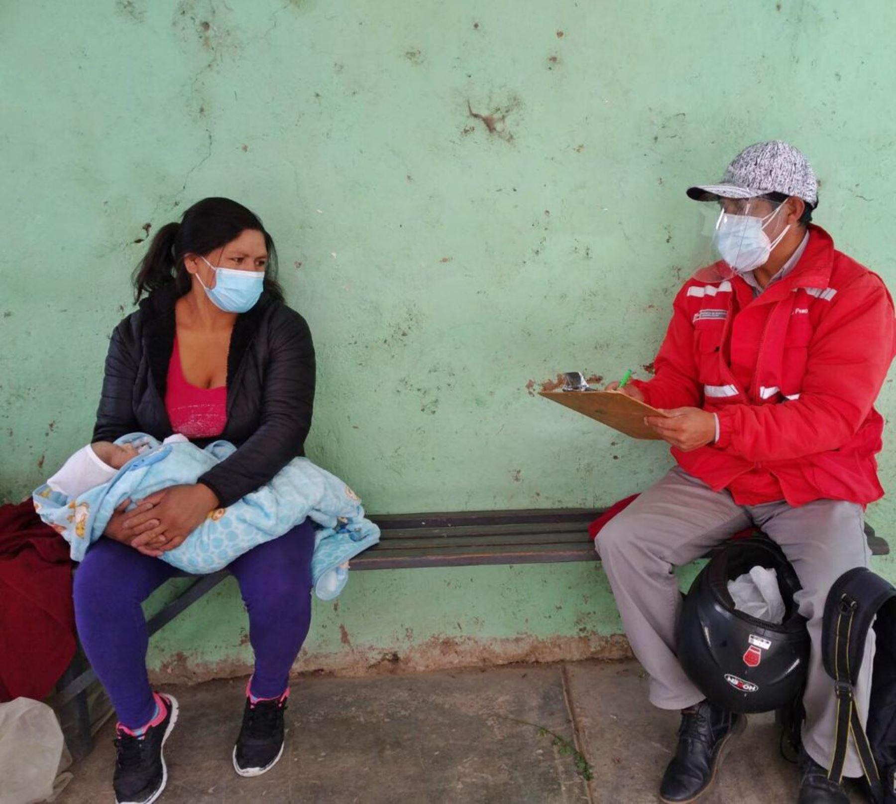 Cajamarca: Juntos promueve atención oportuna de gestantes y recién nacidos