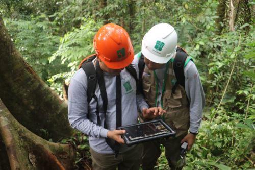 La cooperación alemana entregó en calidad de donación a Osinfor equipos electrónicos que permitirán optimizar las supervisiones forestales.