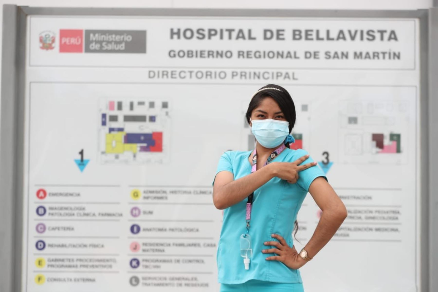 El hospital de Bellavista (San Martín) demandó una inversión de 117 millones 408,455 soles. Foto: ANDINA/Goresam