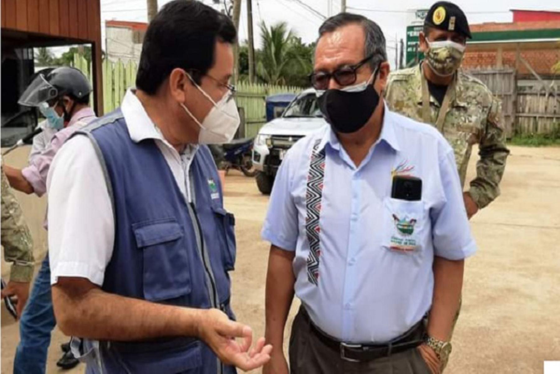 El gobernador regional de Madre de Dios, Luis Hidalgo, informó que se han redoblado las medidas de prevención ante la variante Delta del nuevo coronavirus.