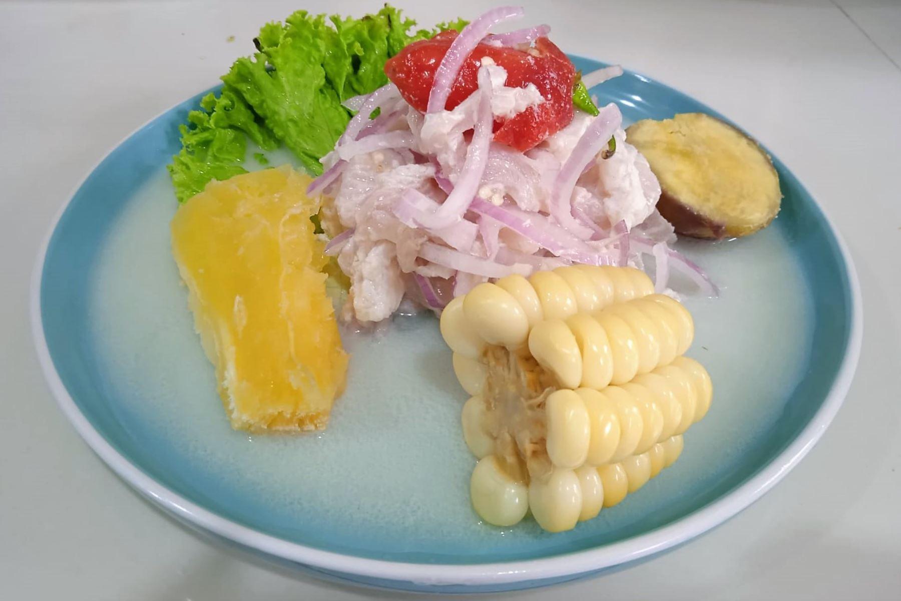 Ceviche del restaurante El Caribe de Huanchaco es reconocido por National Geographic. Fotos: Vanessa Graos Garnique.