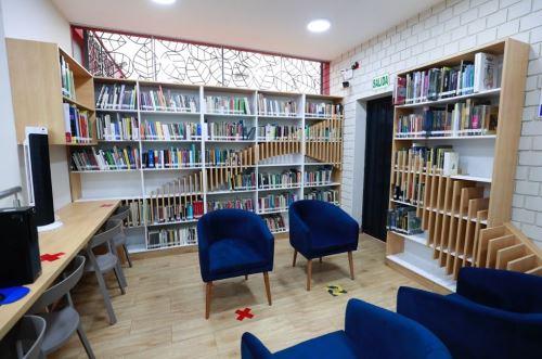 Ministro de Cultura inaugura Estación de Biblioteca Pública del Rímac.