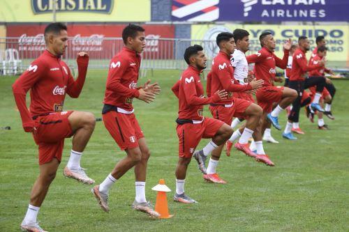 Selección peruana retomó los trabajos en la Videna
