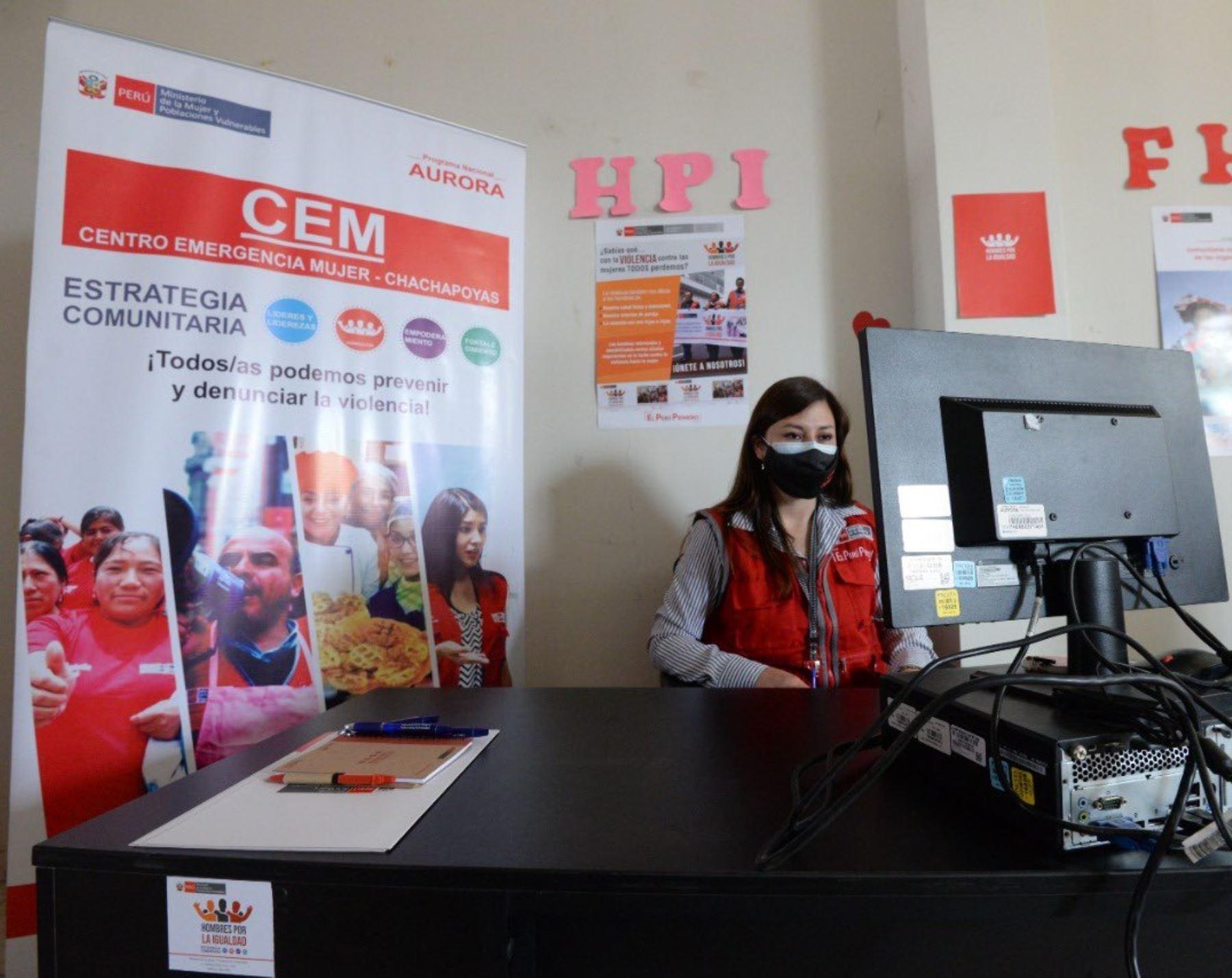 Los ocho centros Emergencia Mujer ubicados en la región Amazonas han reportado más de 480 casos de violencia en lo que va del año, reveló el Ministerio de la Mujer y Poblaciones Vulnerables. Foto: ANDINA/difusión.