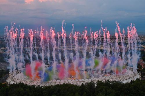Ceremonia de apertura del Campeonato Europeo de Fútbol de la UEFA Euro 2020 2021
