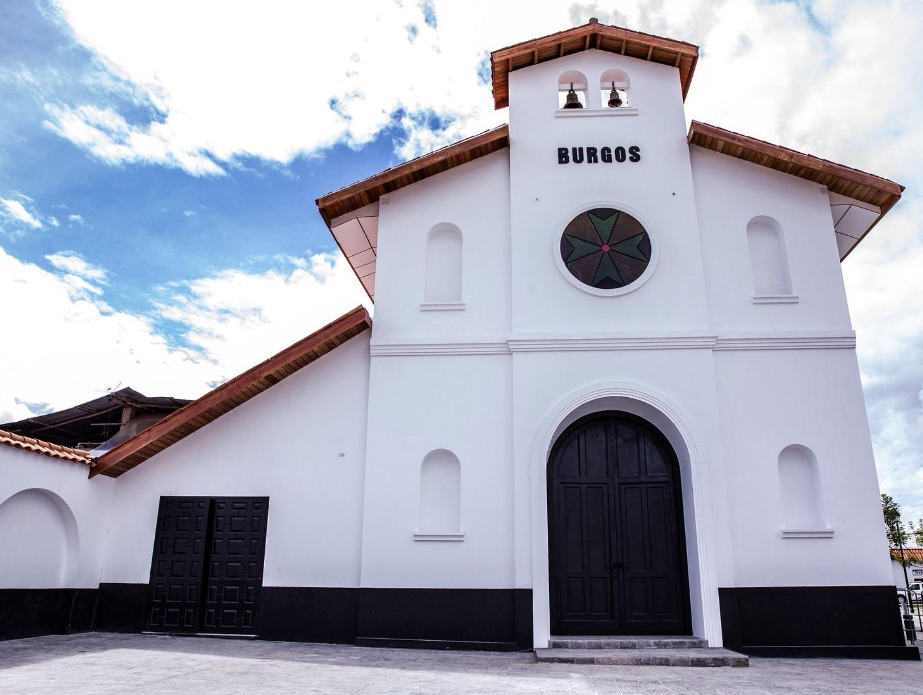Amazonas celebra la entrega del remozado templo de Nuestro Señor de Burgos en Chachapoyas. El Plan Copesco concluyó los trabajos de remoción en esta histórica iglesia de origen colonial. Foto: ANDINA/difusión.