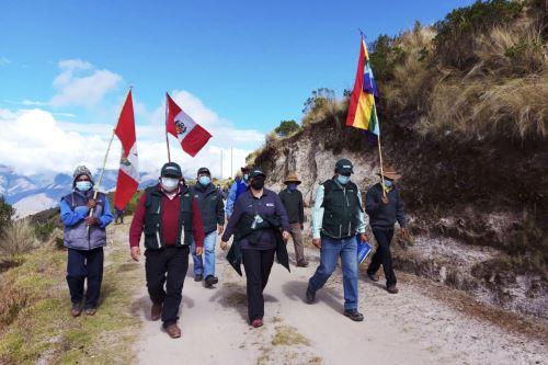 Agro Rural supervisa acciones ante heladas y friaje en la región de Cusco