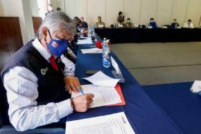 El Ministerio de Salud (Minsa) suscribió un acuerdo de gestión con el Gobierno Regional de Arequipa, con la finalidad de reforzar la respuesta sanitaria en la región frente a los efectos de la pandemia por la covid-19.