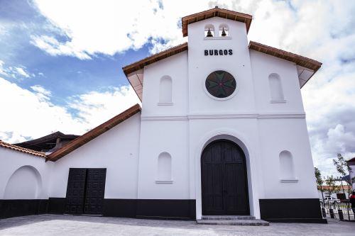 Se inaugura Templo de Burgos en Chachapoyas