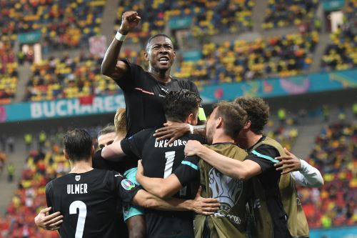 Austria gana 2 a 1 ante Macedonia del Norte por la Eurocopa 2021