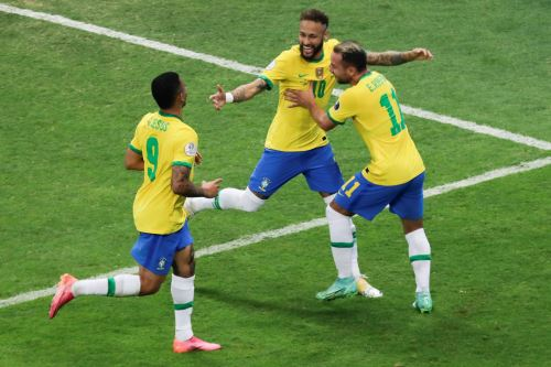 Brasil gana 3 a 0 ante  Venezuela  en partido inaugural por la  Copa América 2021