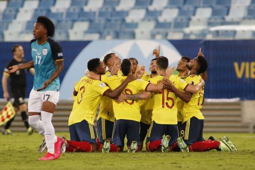 Colombia gana 1 a 0 ante Ecuador por la  Copa América 2021