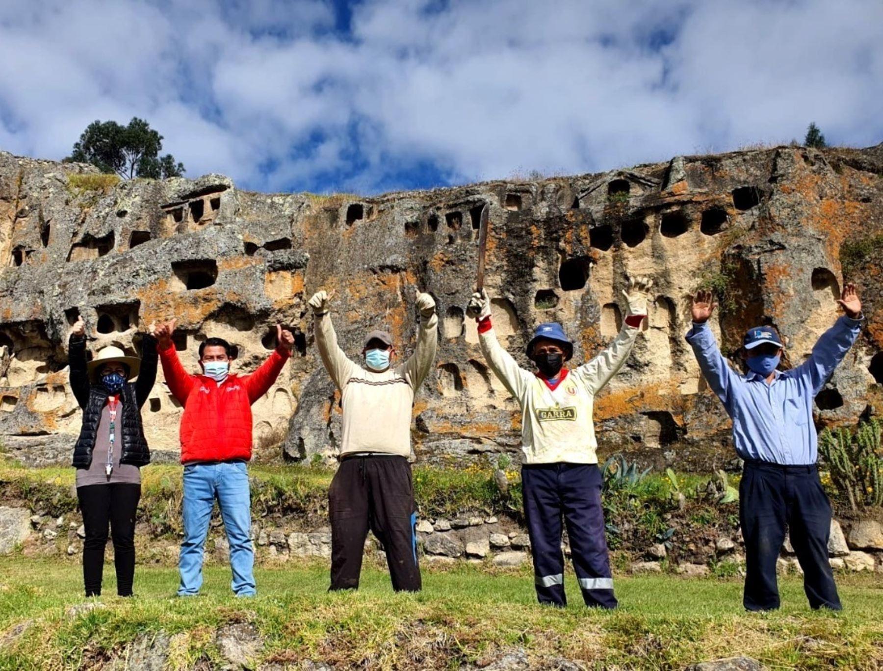 Ventanillas de Otuzco, el emblemático sitio arqueológico de Cajamarca, reabre sus puertas al turismo mañana martes 15 luego de implementar un protocolo sanitario para evitar la propagación de la covid-19. ANDINA/Difusión