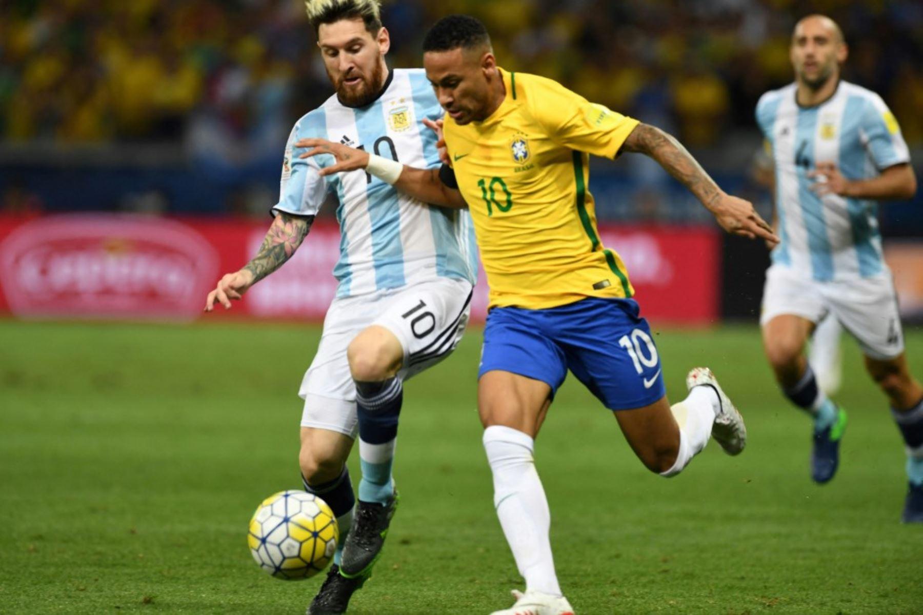 Neymar y Messi luchan por consagrarse en la Copa América 2021