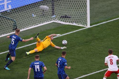 Eslovaquia ganó 2-1 a Polonia por el grupo E de la Eurocopa 2020
