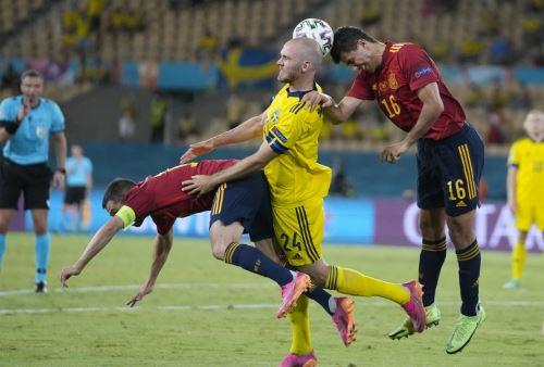 España y Suecia empatan sin goles por el grupo E de la Eurocopa 2020