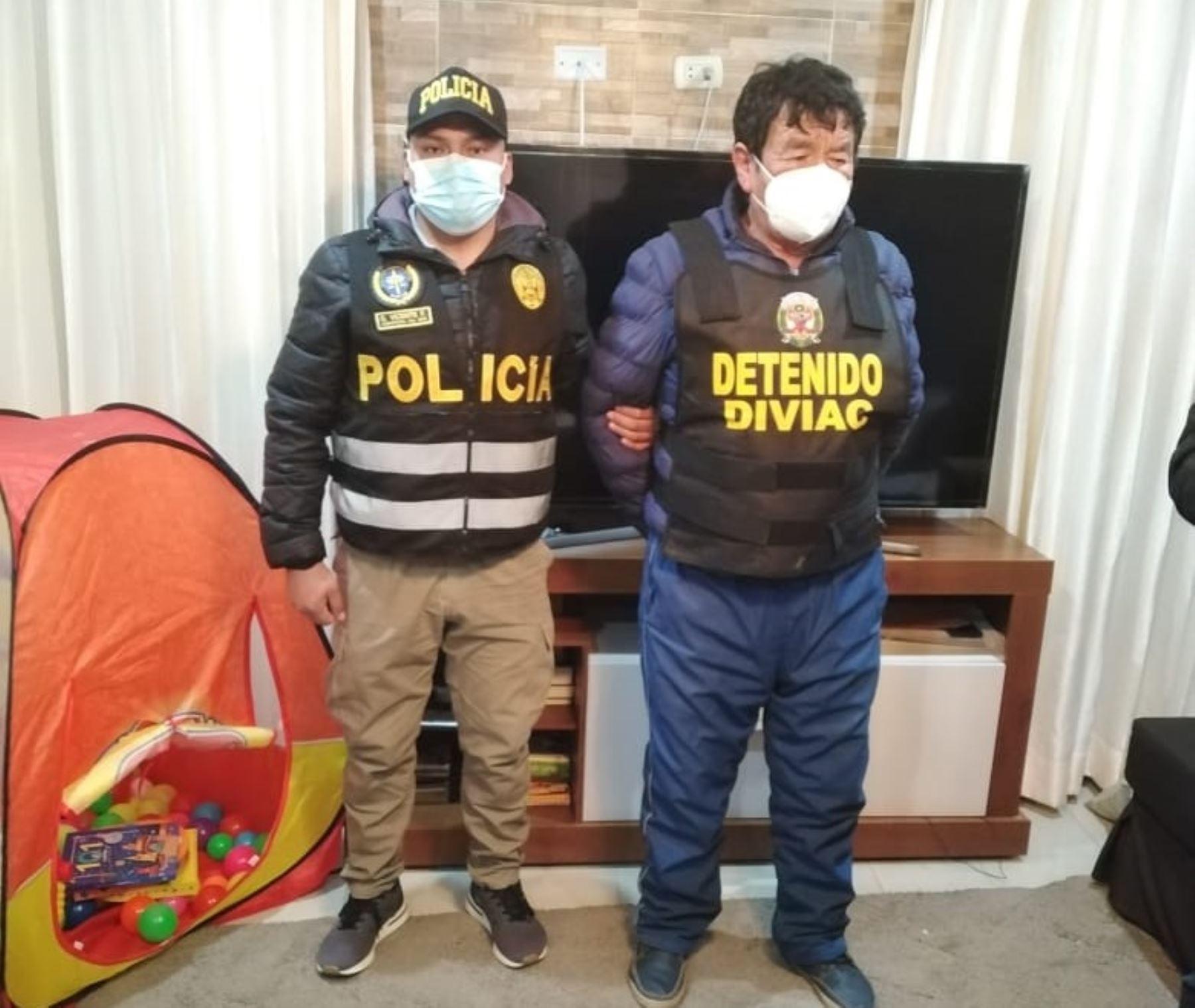 Fiscalía Anticorrupción de Junín ejecuta un operativo contra la organización criminal los Dinámicos del Centro. Foto: Pedro Tinoco.