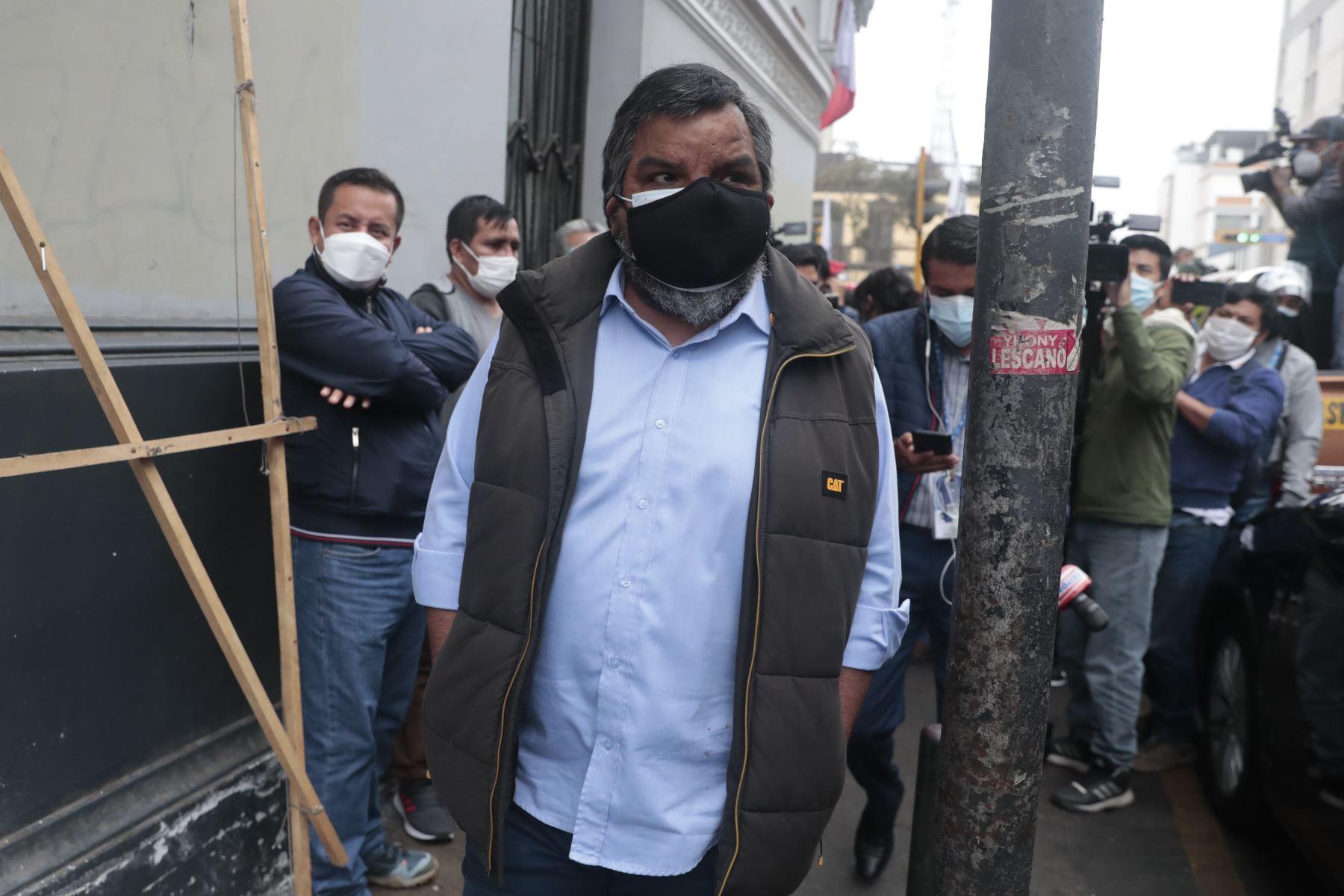 Perú Libre espera que próxima semana se oficialice proclamación de resultados