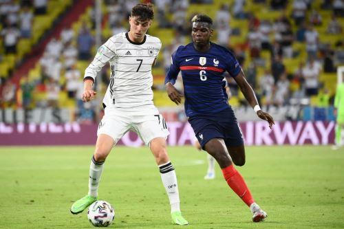 Francia ganó 1-0 a Alemania por el grupo F de la Eurocopa 2020