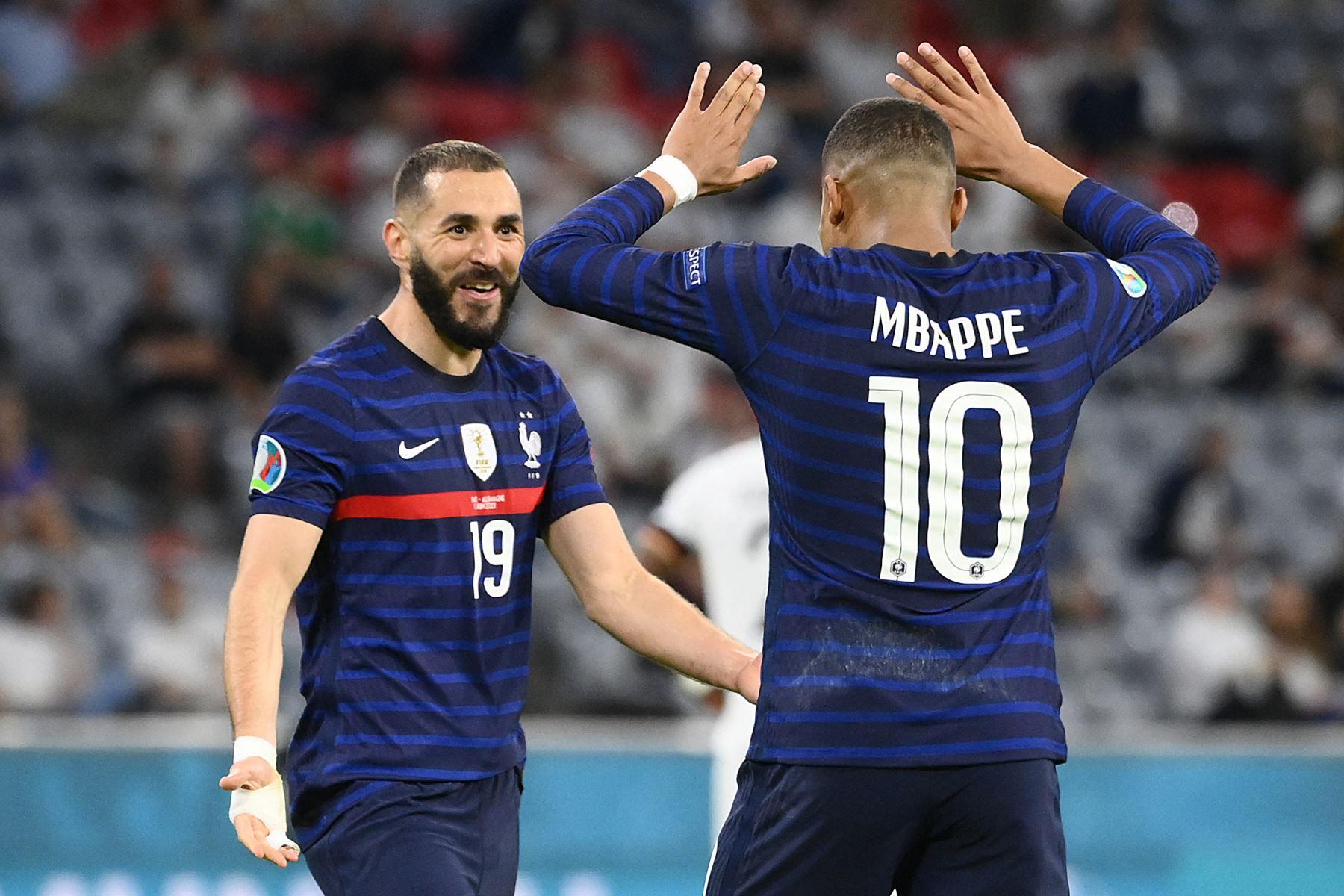"""Benzema: \""""Mbappé jugará un día con el Real. No sé cuándo, pero vendrá\"""""""