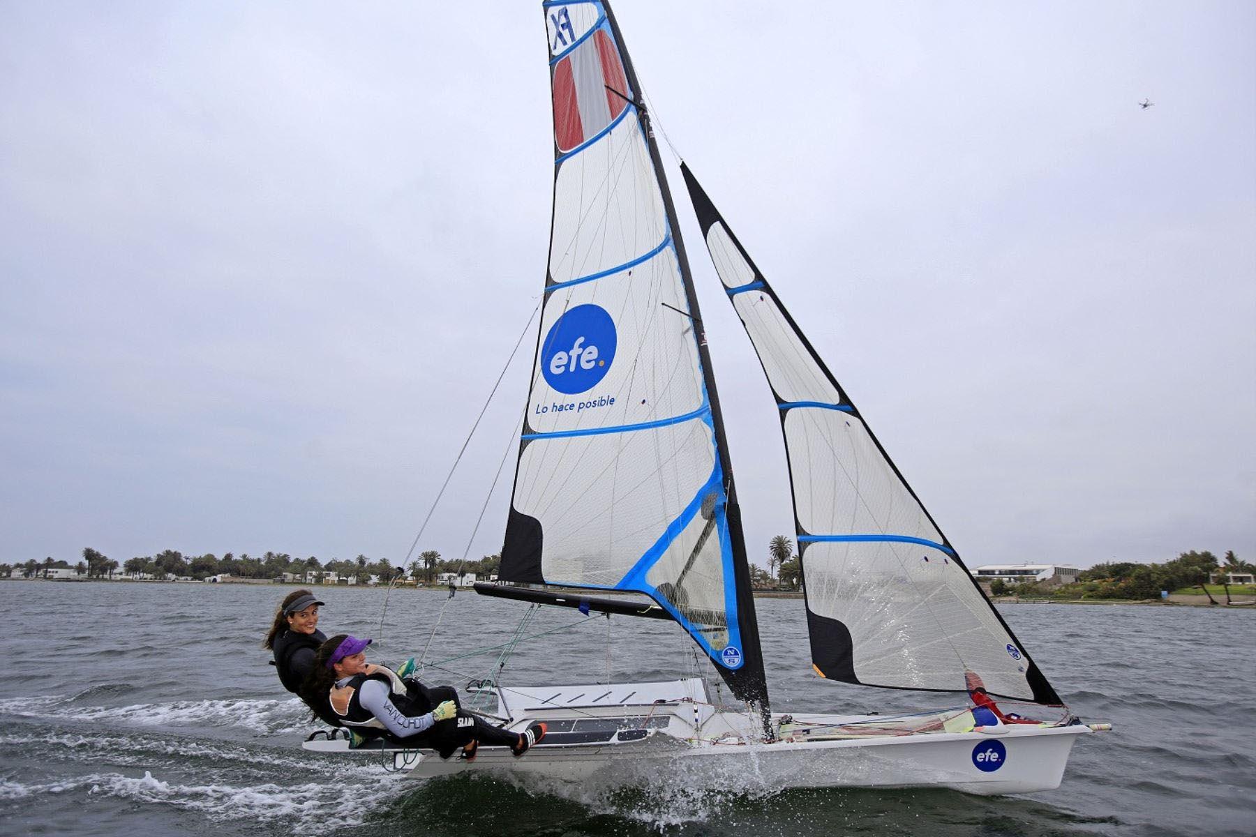María Pia Van Oordt, clasificada a los Juegos Olímpicos de Tokio. Foto: ANDINA/ Difusión