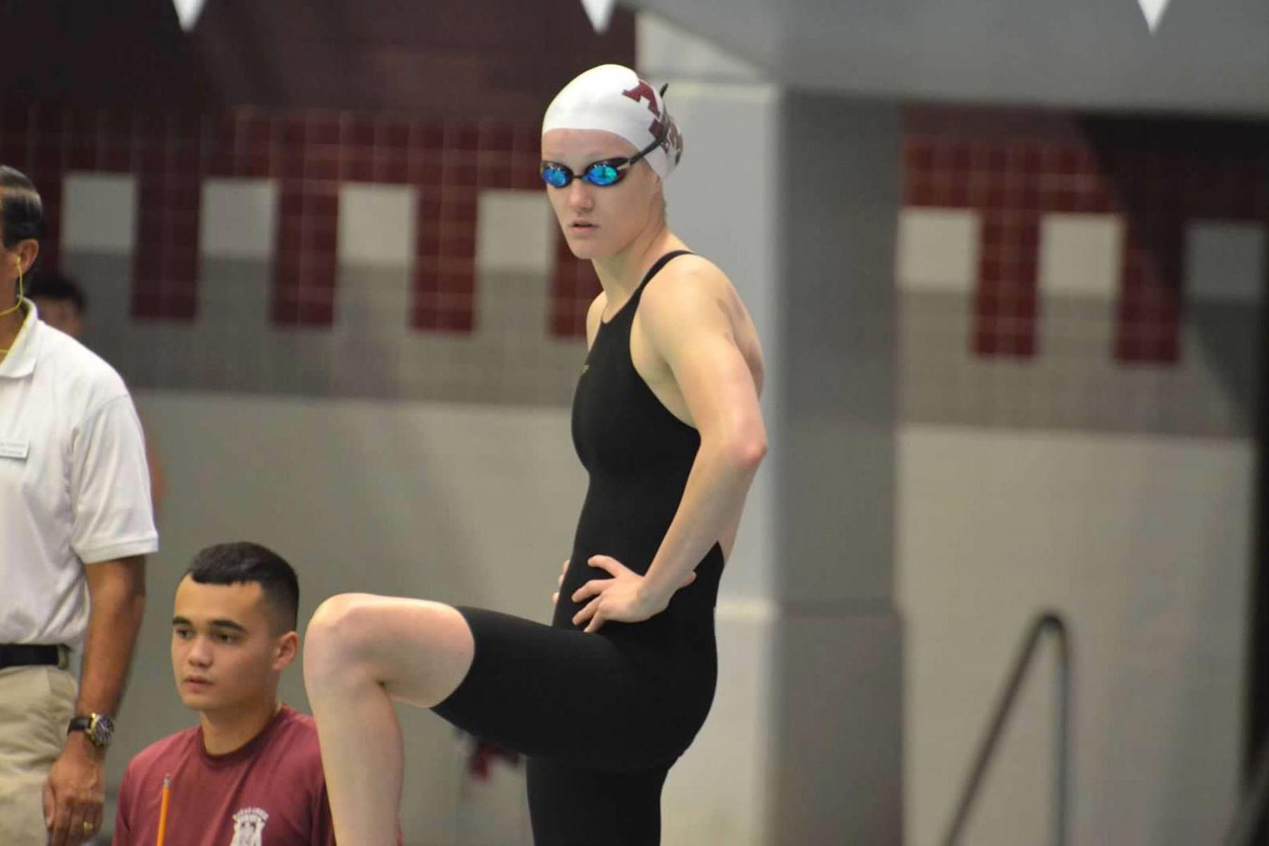 Nadadora peruana Mckenna DeBever , logra cupo para participar en los Juegos Olímpicos Japón 2021. Foto: ANDINA/ Difusión