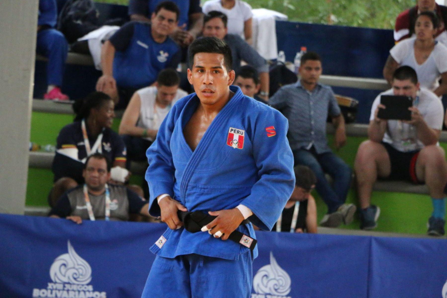 Juan Miguel Postigos logra un cupo para los Juegos Olímpicos Japón 2021 en la disciplina Judo. Foto: ANDINA/ Difusión