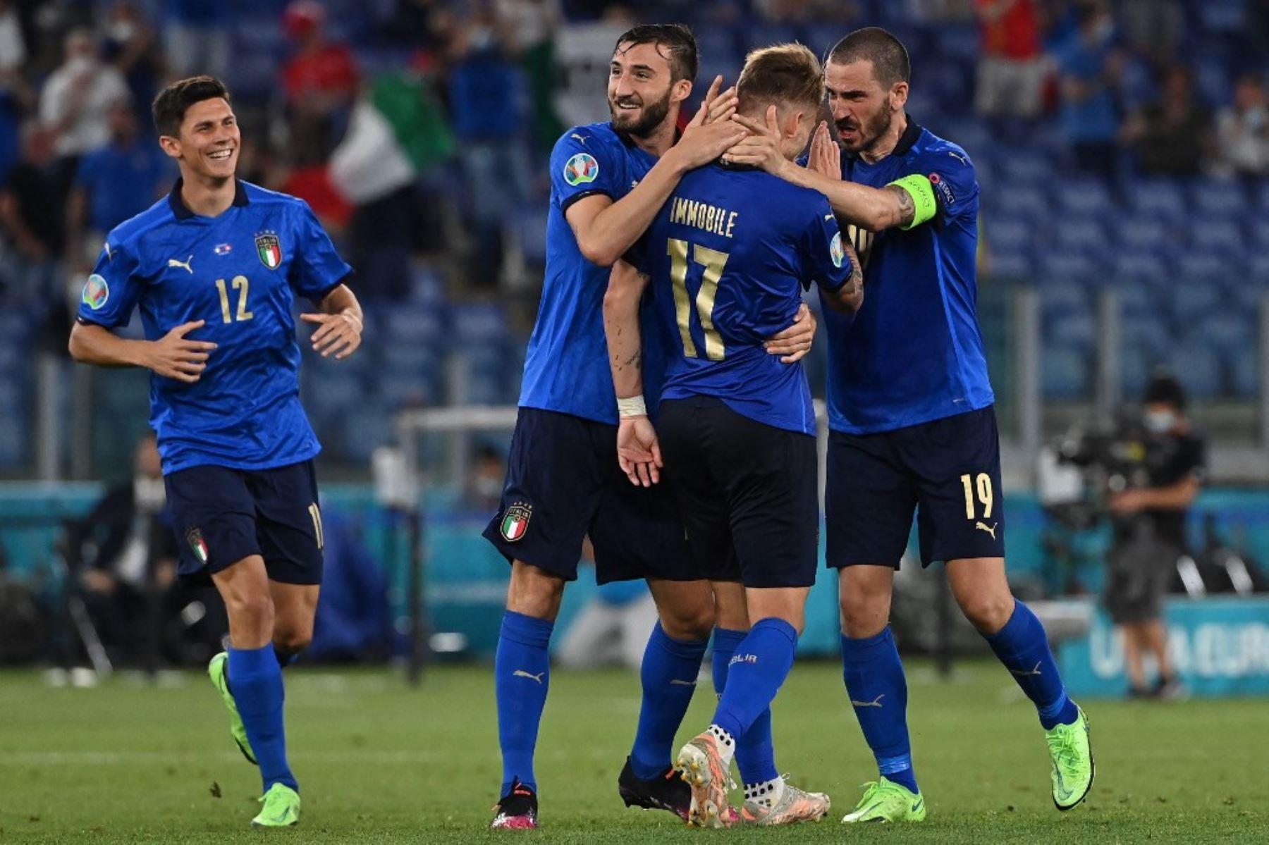 Italia vuelve a demostrar que es uno de los favoritos de la Eurocopa 2020 al vencer 3-0 a Suiza.