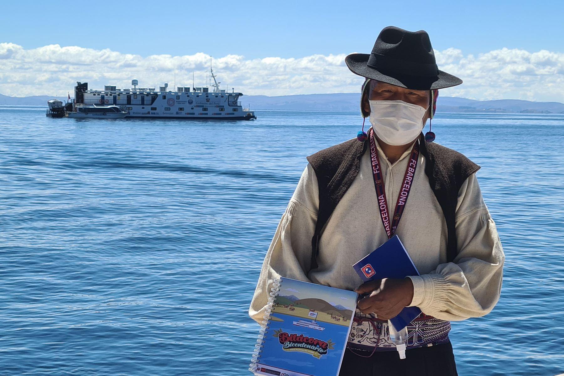 La PIAS Lago Titicaca I navegará durante 40 días hasta llegar a 14 puntos de atención en la región Puno. Foto: ANDINA/Difusión