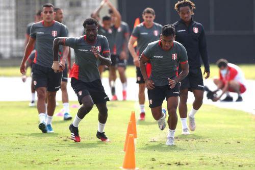 Selección Peruana en su segundo día de entrenamiento listo para enfrentar a Brasil por la Copa América