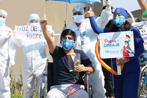 EsSalud: Altas en la Villa Panamericana por el día del padre