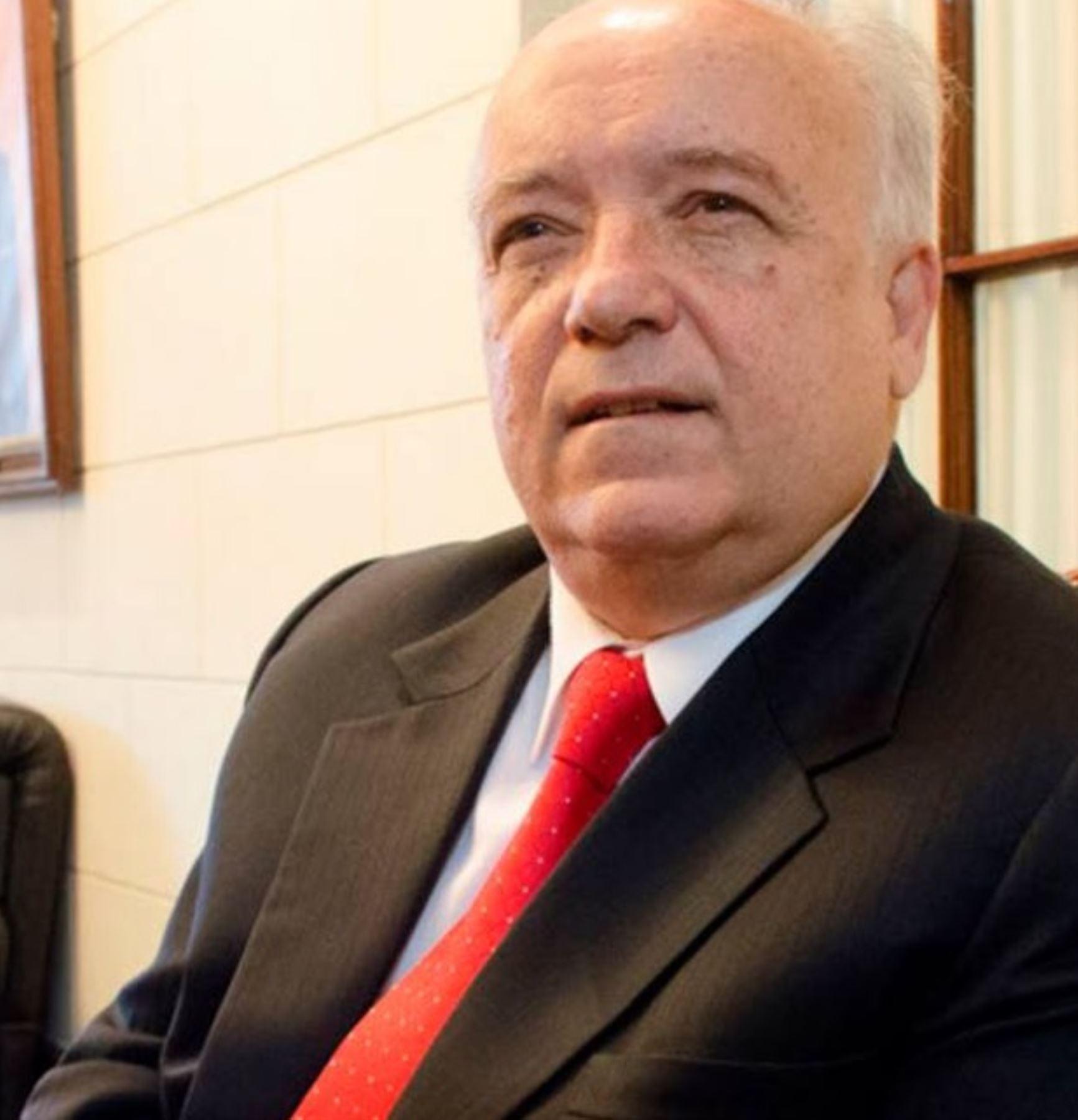 Julián Palacín, integrante del equipo técnico de Perú Libre.