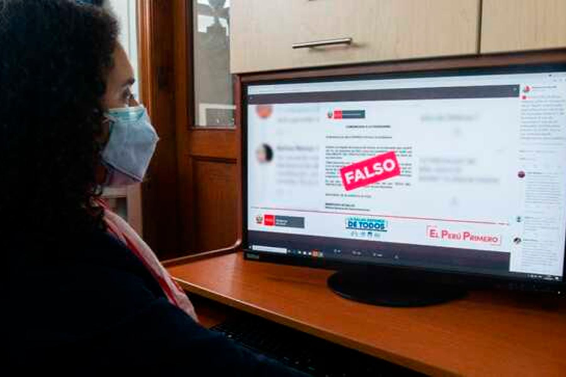 Los adultos deben guiar a los jóvenes hacia una correcta búsqueda de información. Foto: ANDINA/Minsa