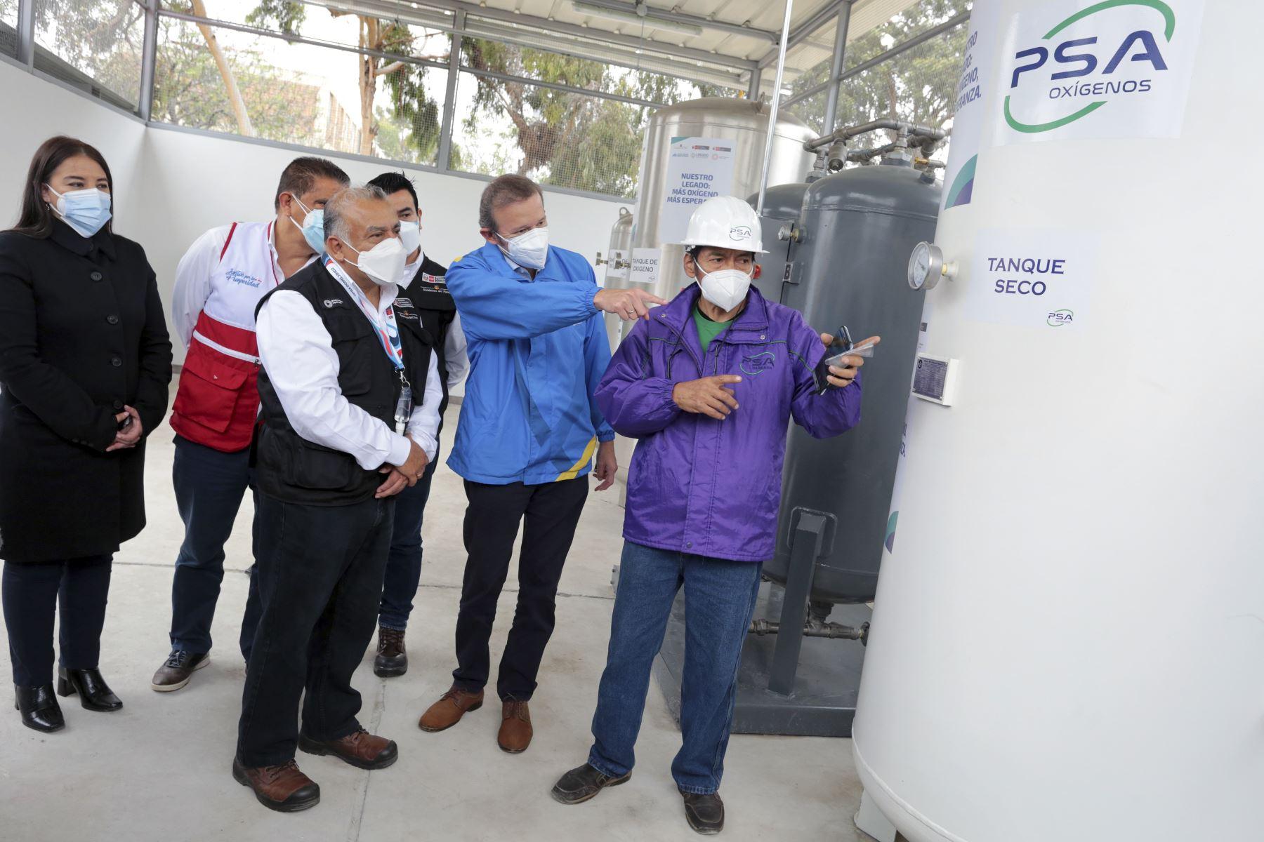 El Proyecto Legado entregó planta de oxígeno medicinal al Hospital Regional Docente de Trujillo. Foto: Legado