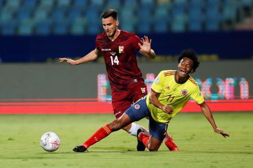 Colombia 0-0 Venezuela por el Grupo B de la Copa America
