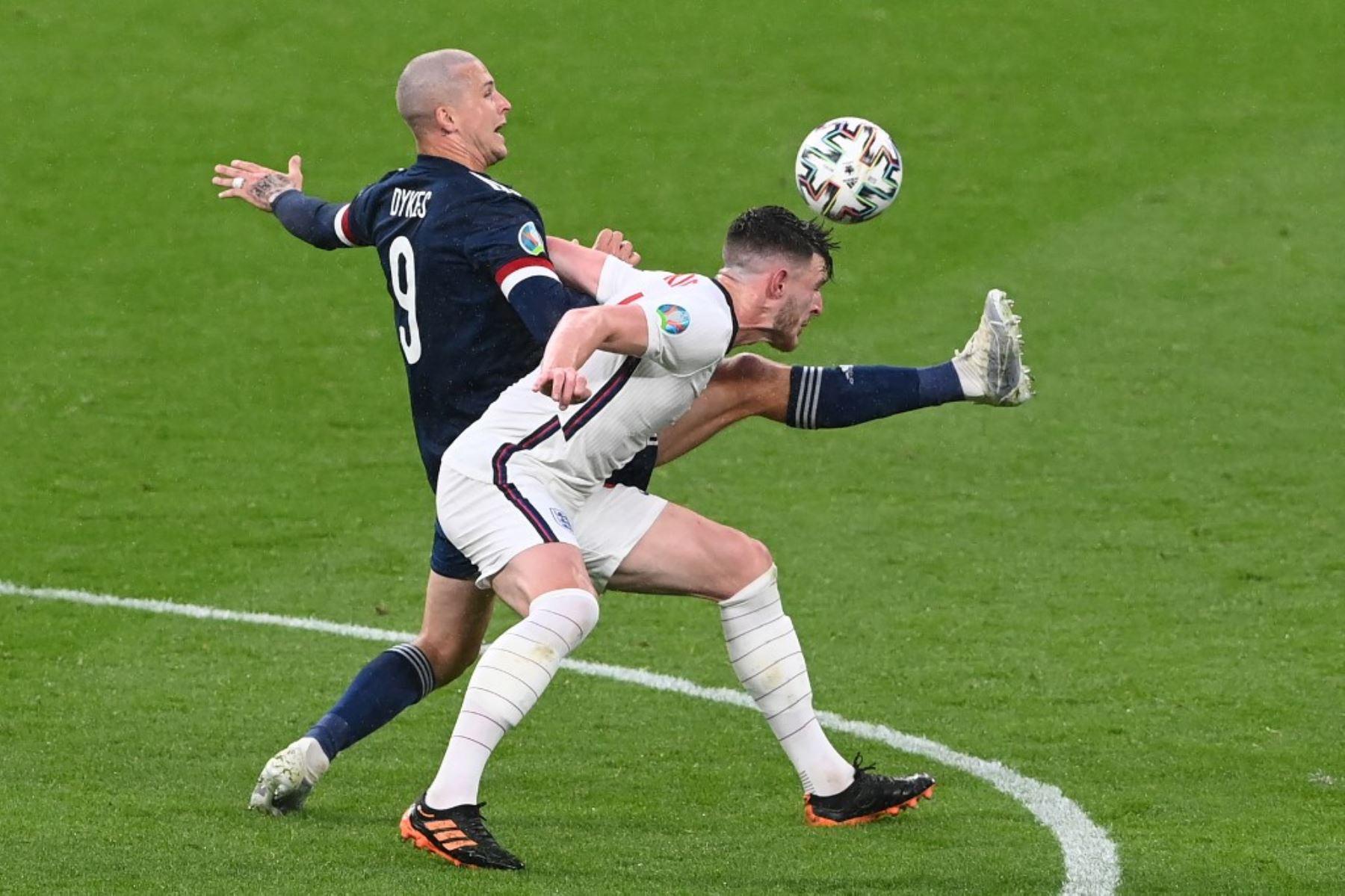 Escocia e Inglaterra no se hicieron nada en Wembley