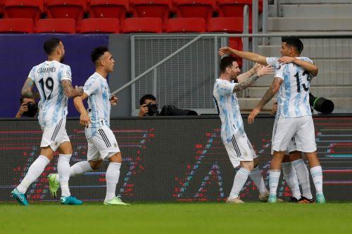Argentina vence 1-0 a Uruguay por la Copa América