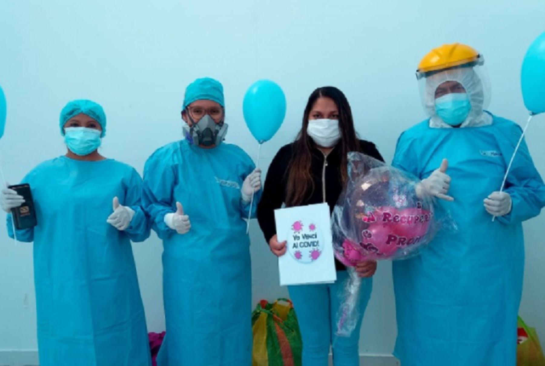 Nueva Villa EsSalud Huaraz da de alta a más de 20 pacientes diagnosticados con covid-19