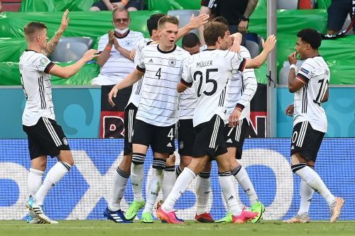Alemania gana 4 a 2 ante Portugal por la Eurocopa 2021
