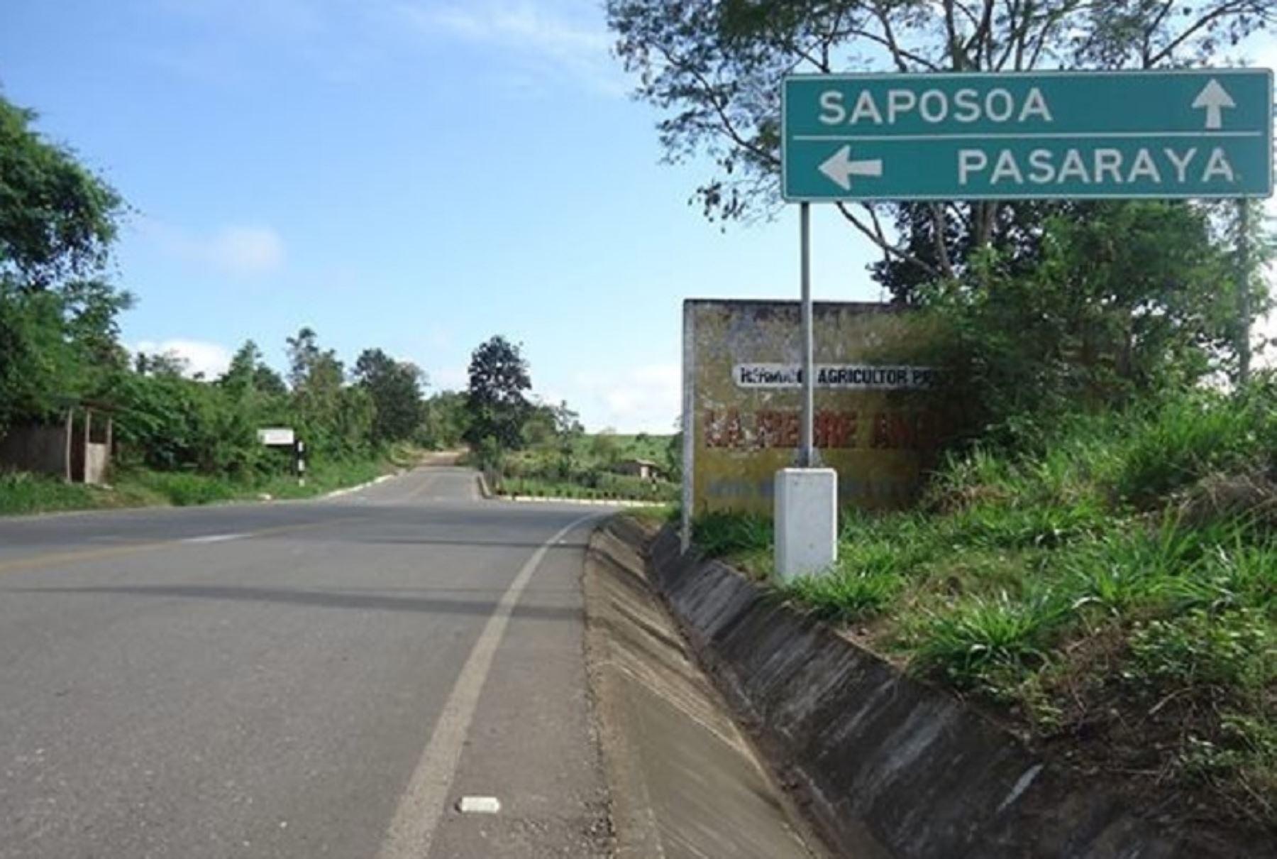 La Contraloría General de la República detectó un perjuicio económico por más de 13 millones de soles en la municipalidad provincial Huallaga, en las obras de mejoramiento de la carretera Saposoa-Pasarraya.