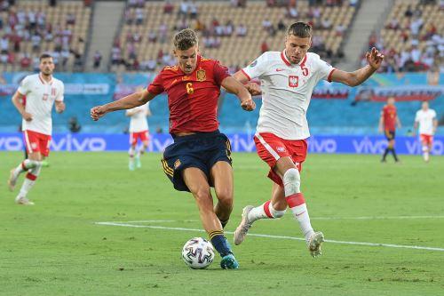 España empata 1 a 1 a Polonia en un partido por la Eurocopa 2021