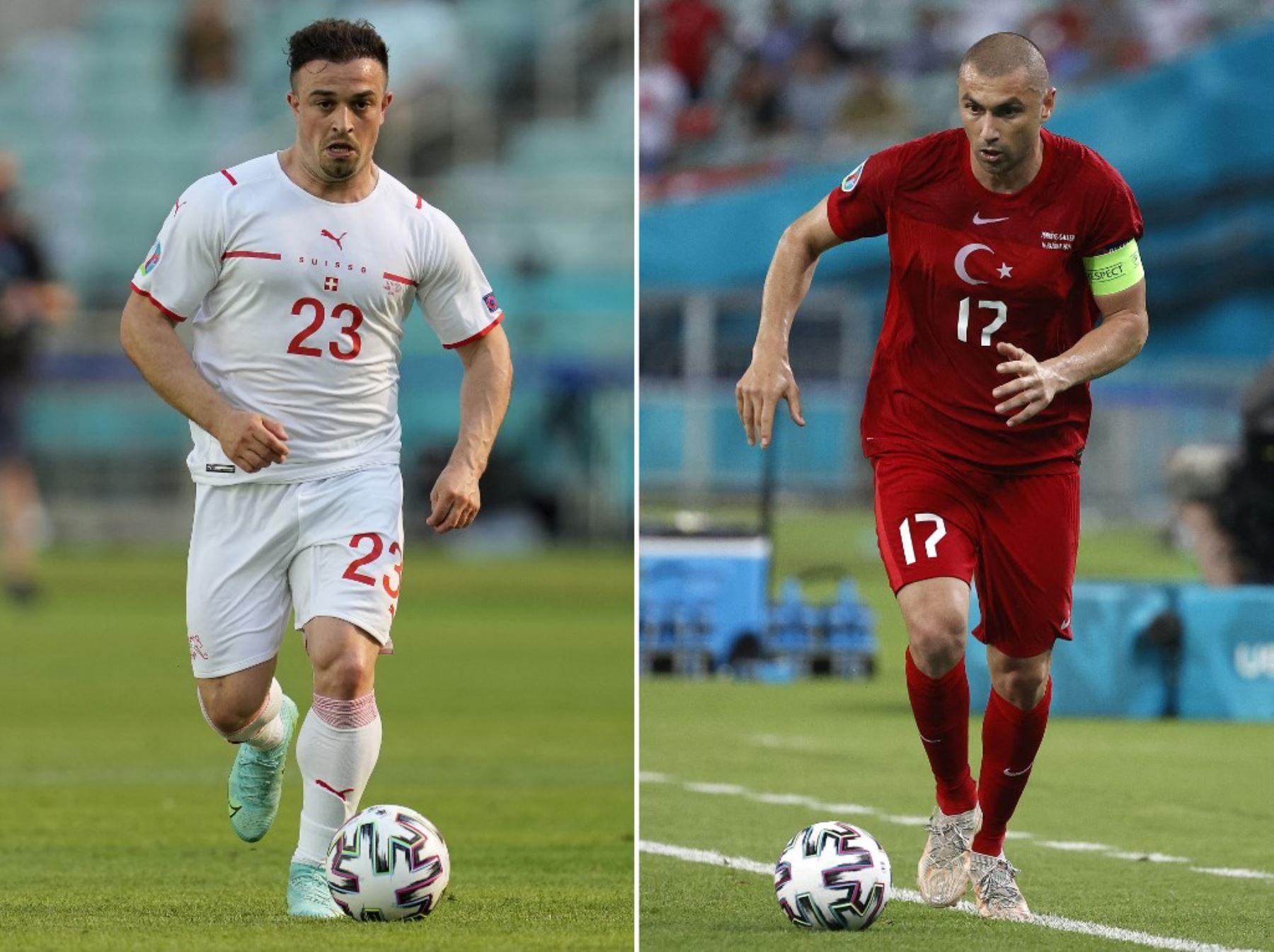 Suiza y Turquía se juegan el todo o nada en la Eurocopa