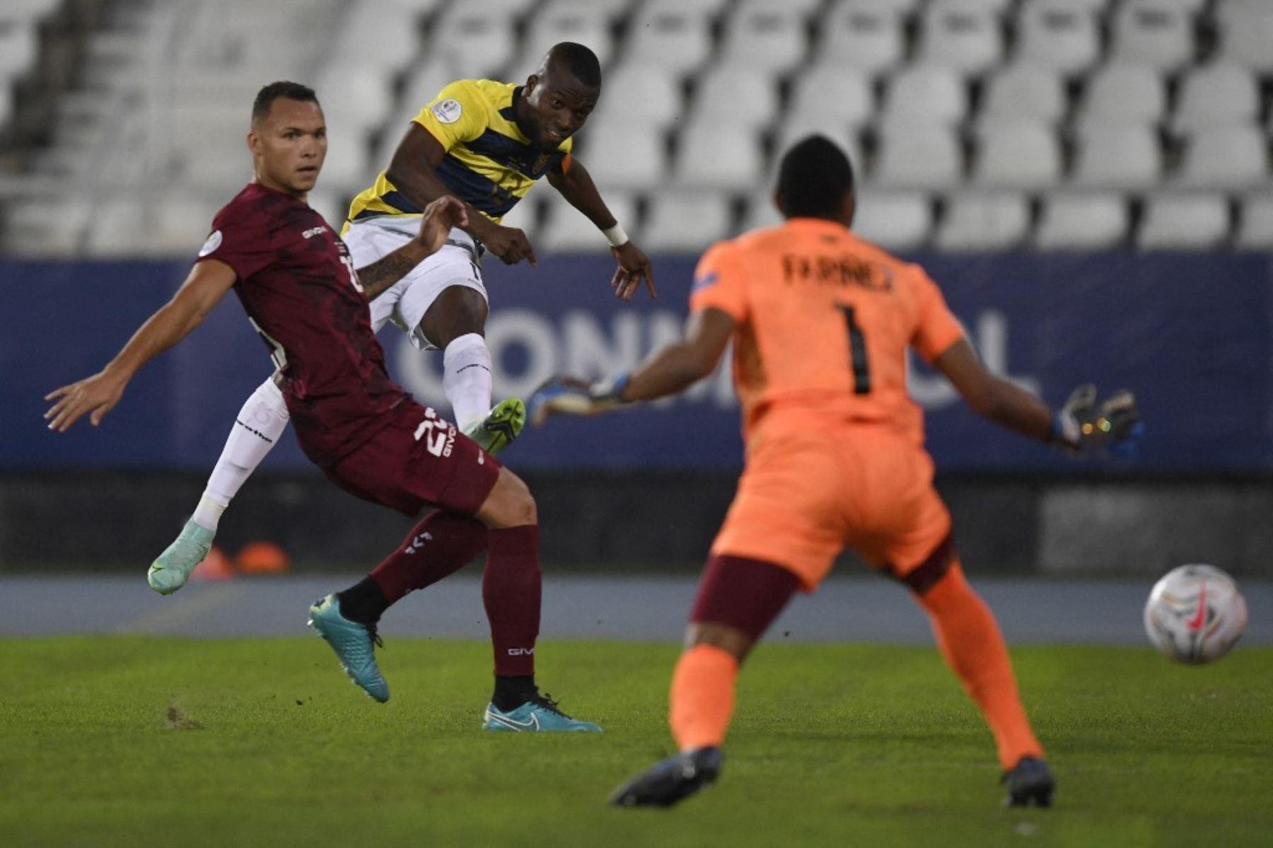 Ecuador y Venezuela juegan en la tercera fecha de la Copa América 2021.