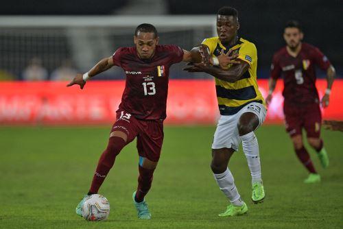 Ecuador y Venezuela empatan 2 a 2  en un partido por la Copa América