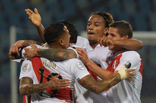Perú derrota 1-0 a Colombia por el Grupo B por la Copa América