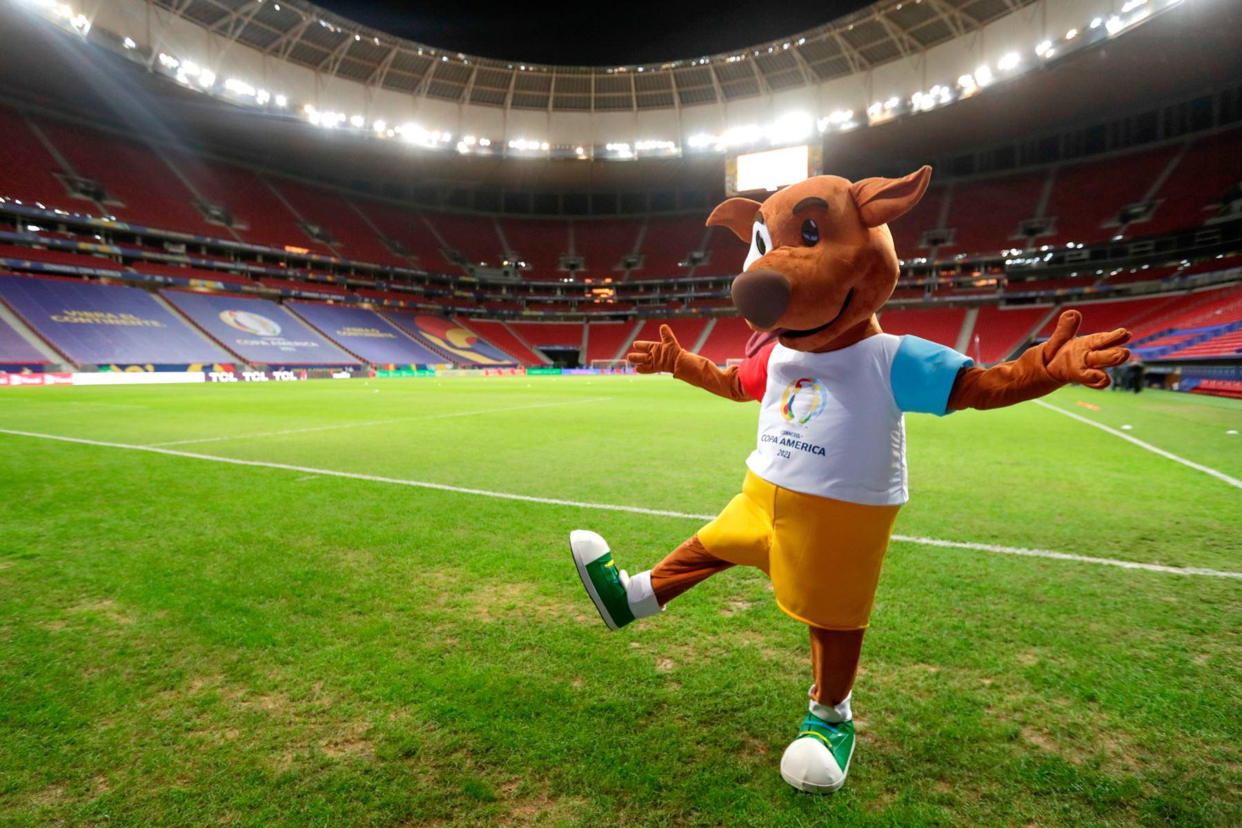 Los estadios vacíos le quita color a la Copa América 2021