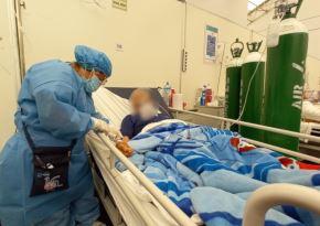 Hospitalizaciones por covid-19 disminuyen hasta en un 70 % en EsSalud de Chimbote, en Áncash. ANDINA/Difusión